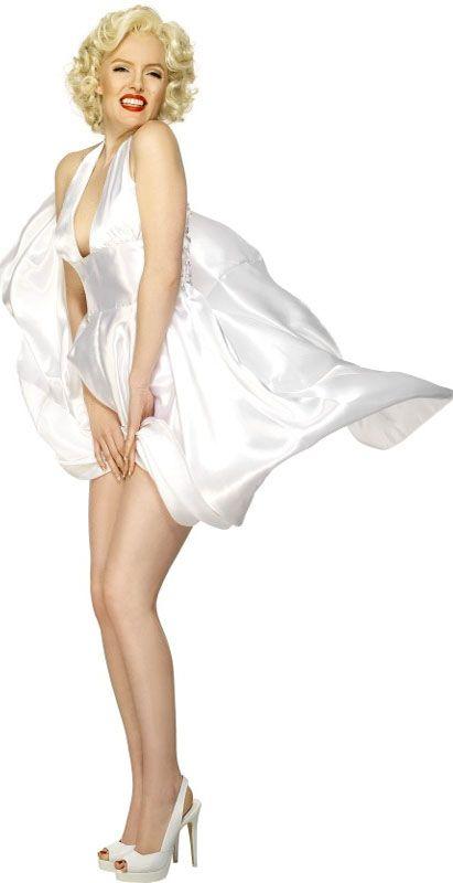 Marilyn Monroe Wig Adult Halloween Fancy Dress