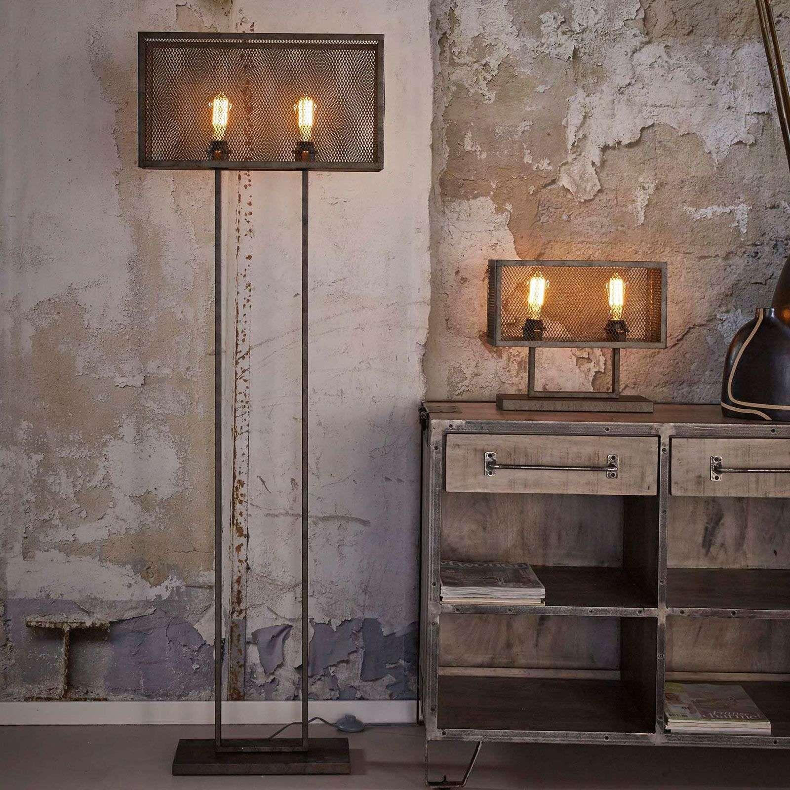 lampe à poser squaregrid à 2 lampes in 2020  stehlampe