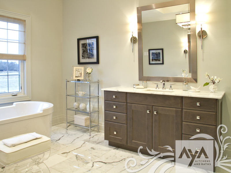 find this pin and more on bathroom ideas canadian kitchen and bath cabinetry manufacturer