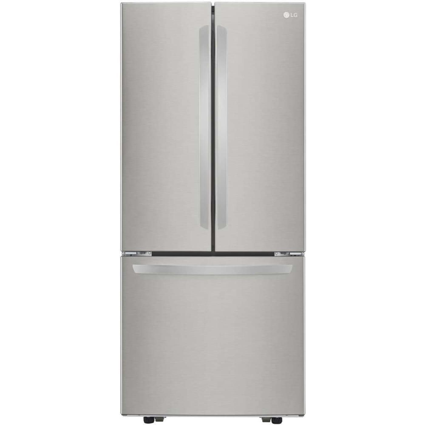 Lfcs22520s By Lg French Door Refrigerators Goedekers Com Lg French Door Refrigerator French Door Refrigerators Tempered Glass Shelves