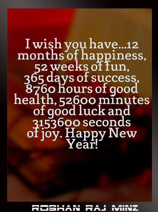 A Wish For 2015 My Quotes Pinterest New Year Wishes
