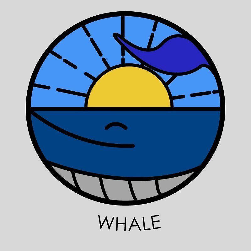 Whale  | Practicando con Illustraitor !  ____________________________  #whale #design #ilustracion #blue #illustrator #illustration #sea #sun #designprocess #graphicdesigner #vector #bestvector #picame #flat #graphicroozane #visforvector #flatdesign #iconaday #iconutopia #designarf by designarf