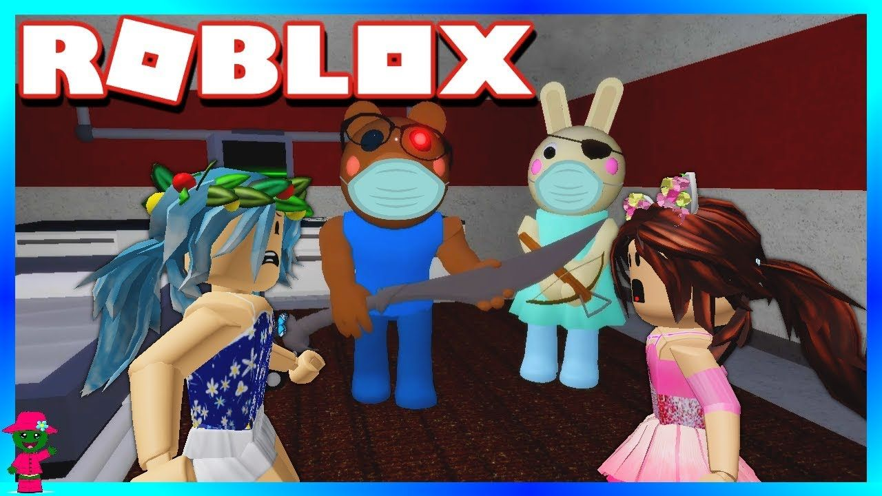 Bunny Brought Us To A Hospital Roblox Piggy In 2020 Cute