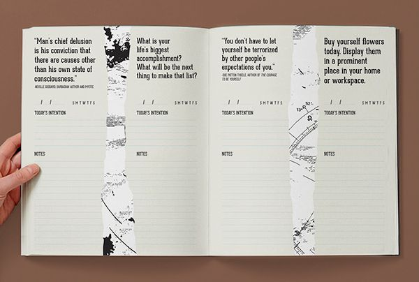 The Every Year Calendar on Behance editorial Pinterest Behance