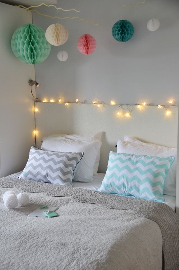 {Fabelaktig} Bedroom, Pompoms, Lightschain, Chevron