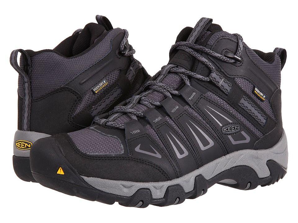 e3cd8fc0638 Keen Oakridge Mid Waterproof Wide Men's Shoes Magnet/Gargoyle ...