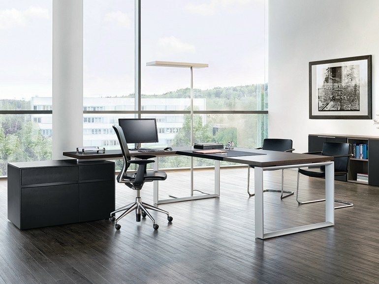 SONO Office desk with drawers by RENZ design Justus Kolberg ...