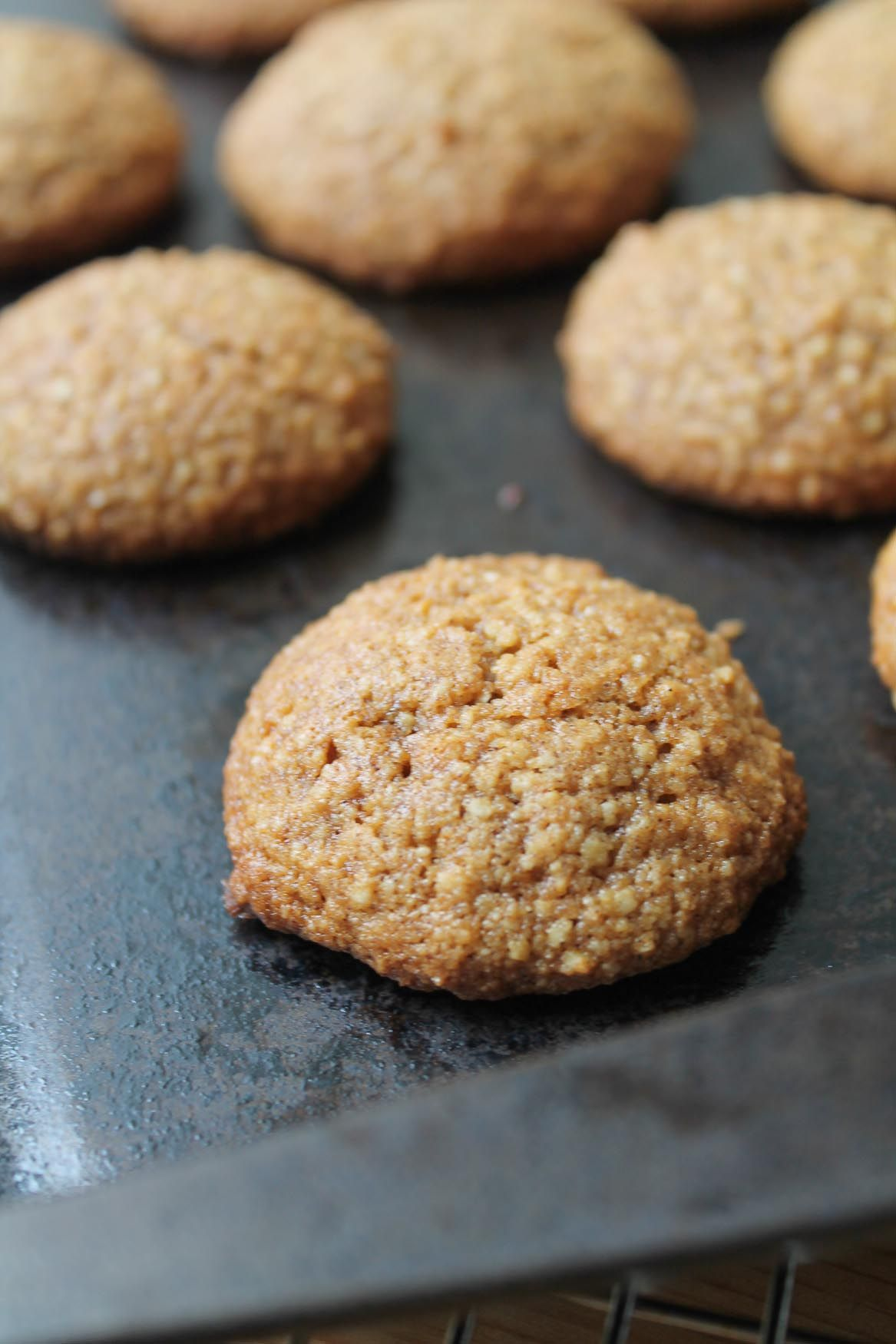 Ginger almond cookies gluten free almond cookies almond