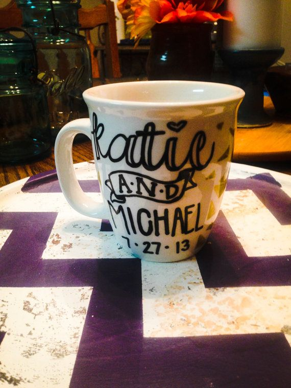 Personalized Coffee Mug/ Marriage Mug on Etsy, $10.00