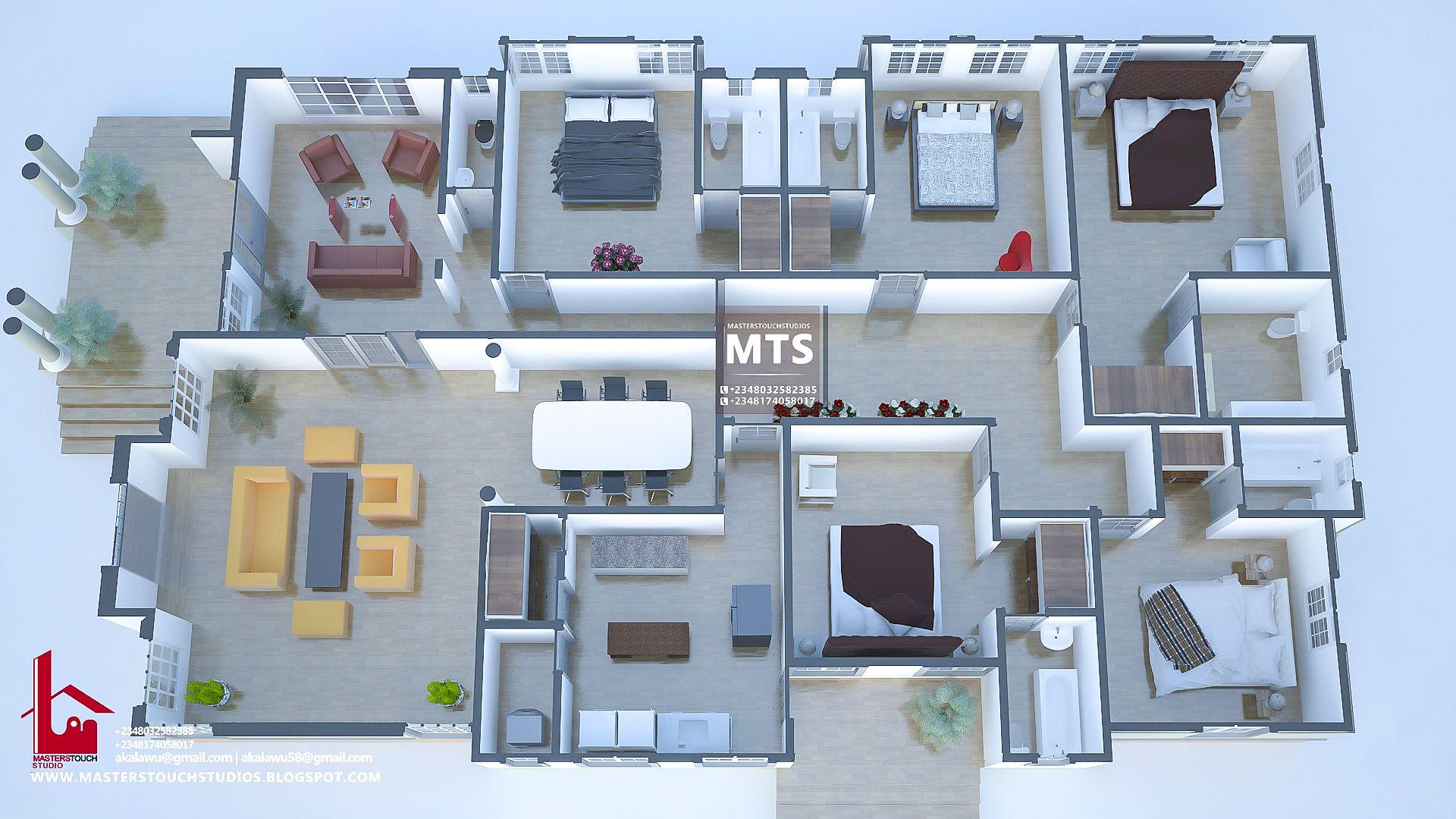 5 Bedroom Bungalow Bungalow Floor Plans Contemporary House Plans 5 Bedroom House Plans
