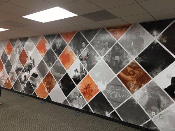 Custom printed wall murals in orange county ca