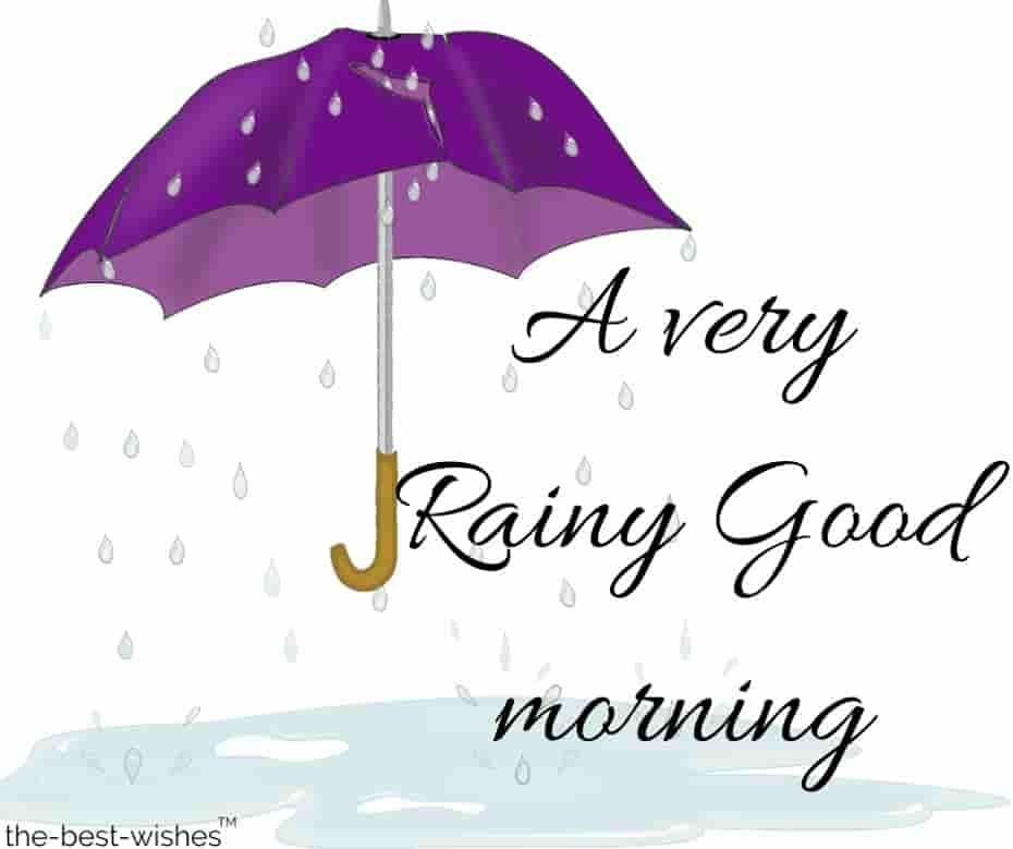 A Very Rainy Good Morning Images. #goodmorningrainyday