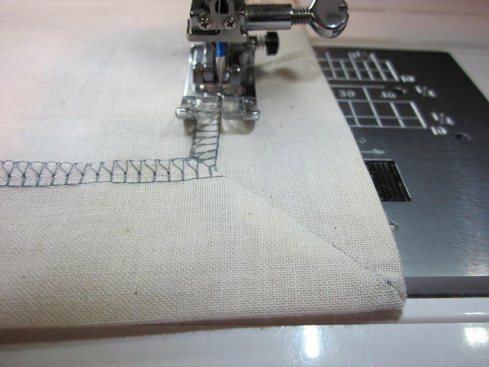 How to Sew a Corner (aka Mitered) Hem   Sew4Home