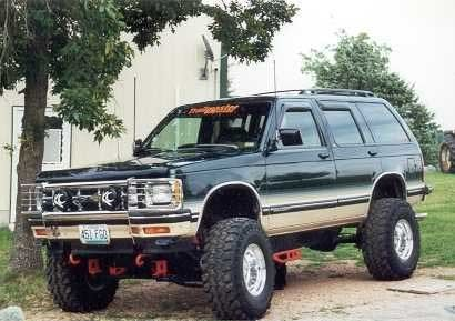 1993 Chevy S-10 Blazer Tahoe LT | lifted trucks | Chevy