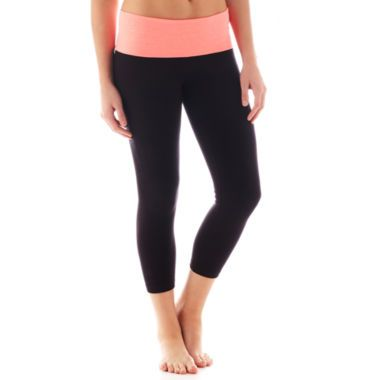 d1e9ba7593aa City Streets® Flat Front Cropped Yoga Pants found at  JCPenney ...