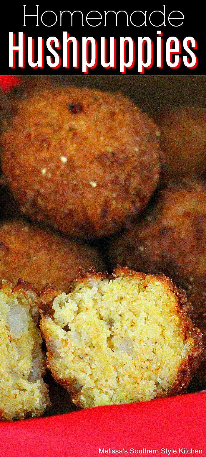 Photo of Homemade Hushpuppies #hushpuppies #bread #appetizers #bread #cornbread