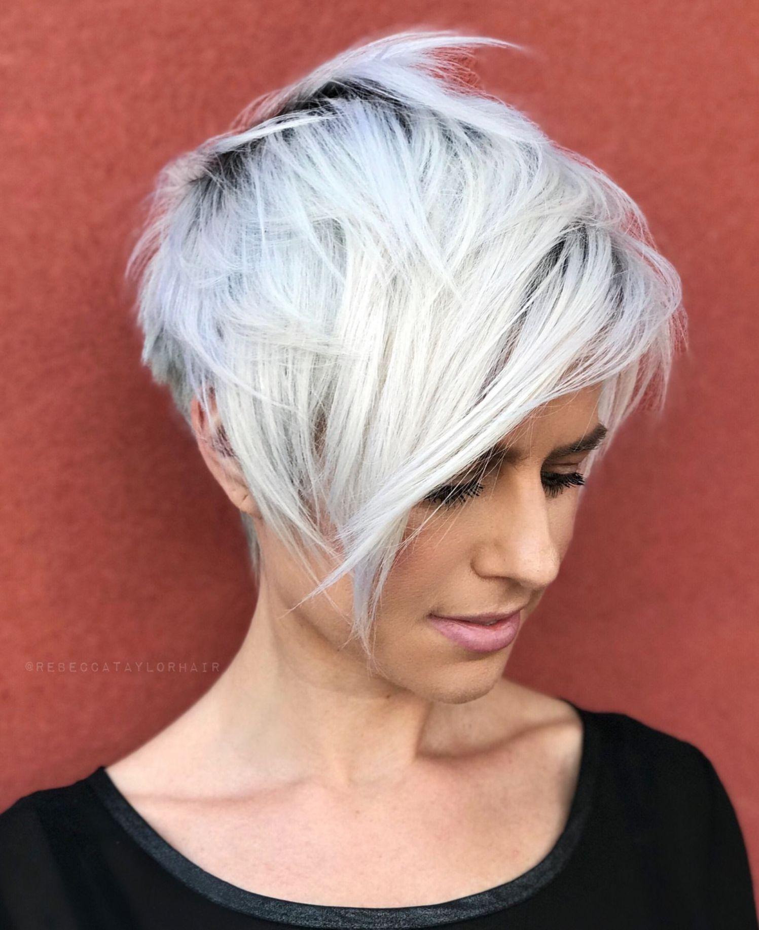overwhelming ideas for short choppy haircuts pixie hair