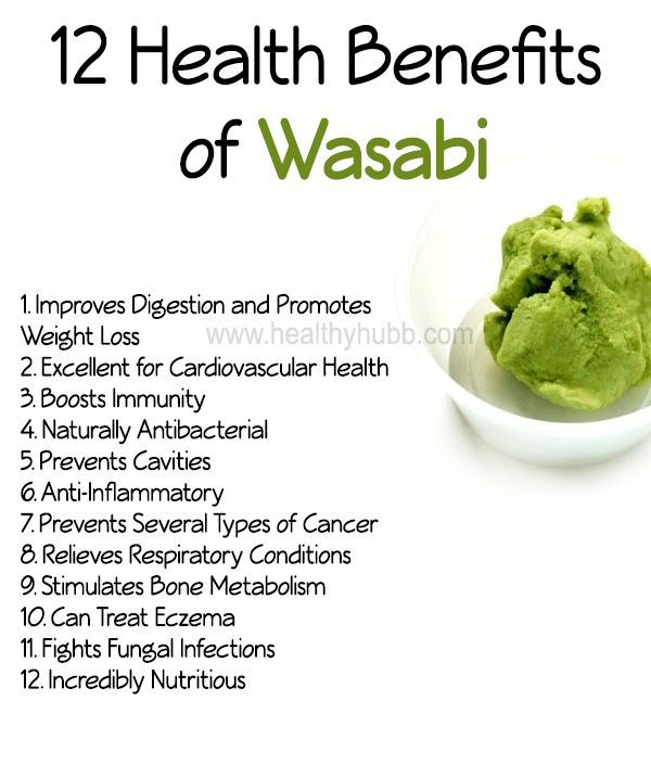 Health Benefits of Wasabi: Why It's So Good for You 12 Health Benefits of Wasabi!12 Health Benefits of Wasabi!