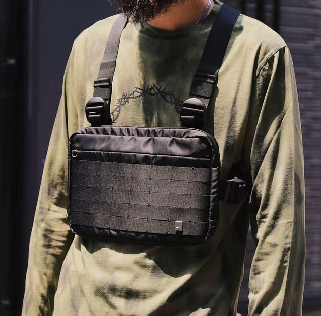 Sports & Entertainment 2019 Hip-hop West Street Ins Hot Style Chest Rig Military Tactical Chest Bag Functional Package Prechest Bag Vest Bag Sturdy Construction