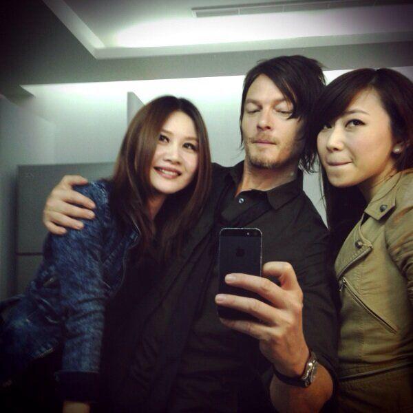 Twitter / wwwbigbaldhead: glam squad Taipei