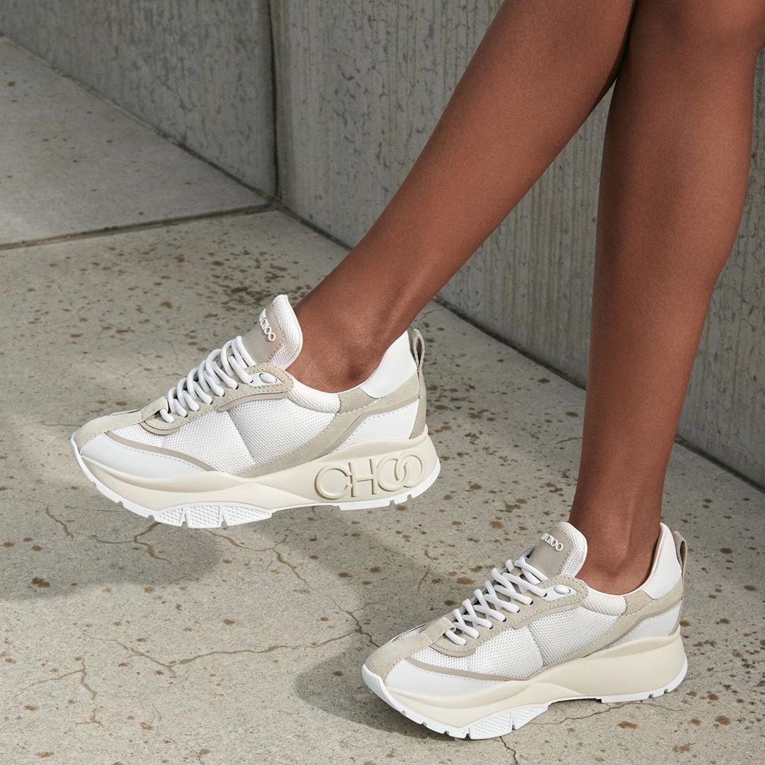 chunky sneaker trend #JimmyChoo