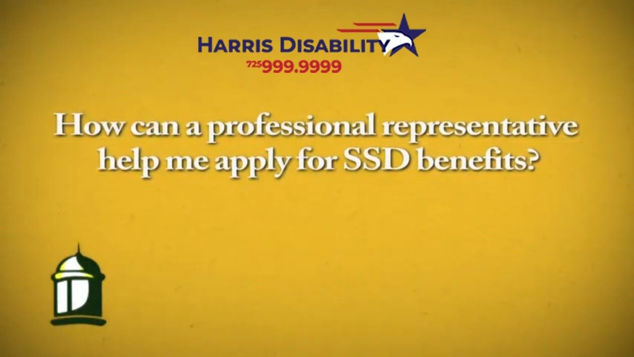 How Can A Ssd Attorney Help Me Apply For Benefits Harris Disability L How To Apply Social Security Disability Benefits Disability