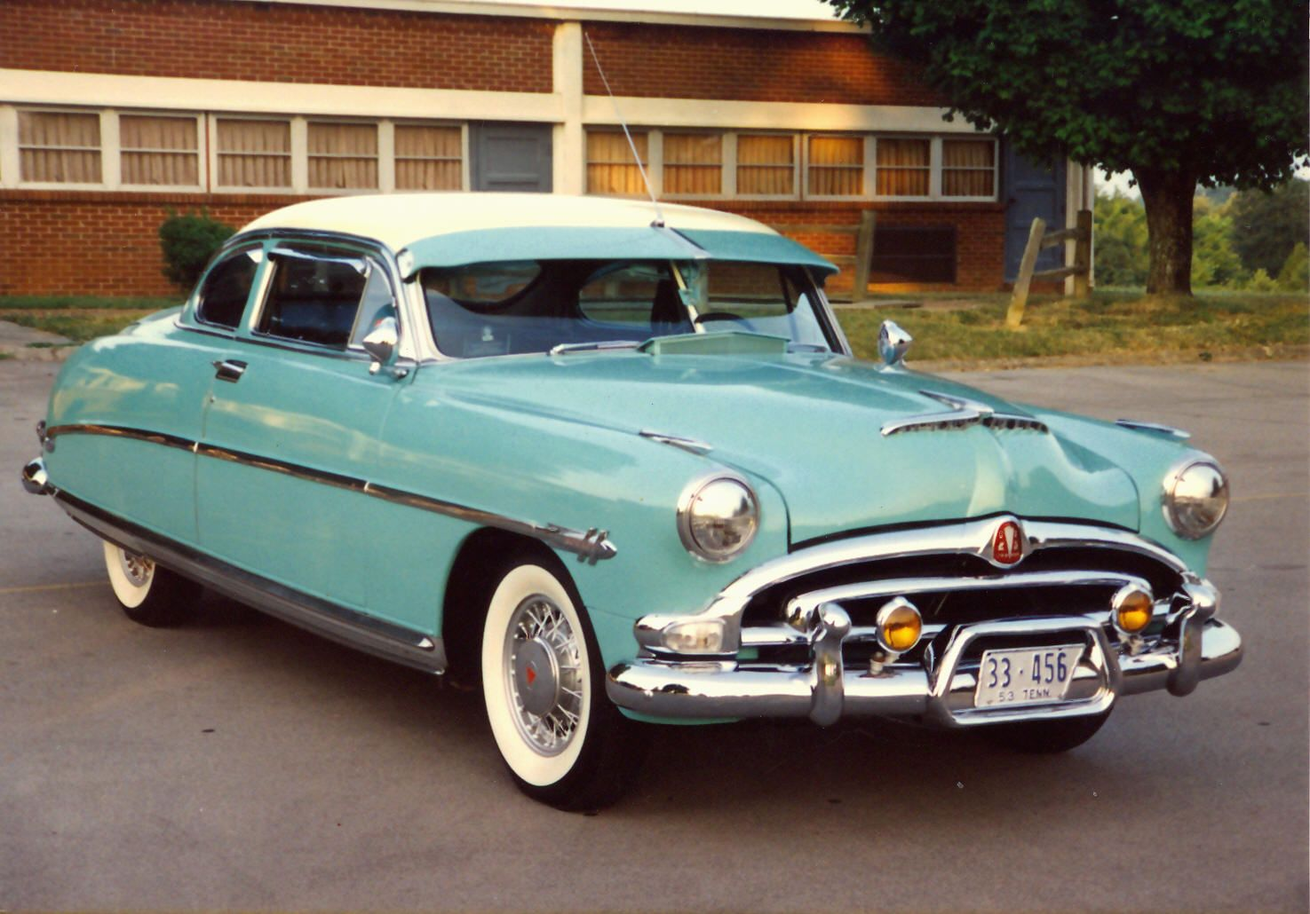 1953 hudson hornet club coupe owned by family since 1980. Black Bedroom Furniture Sets. Home Design Ideas