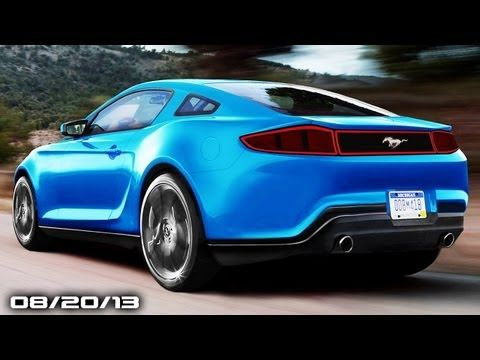2015 Mustang, Acura NSX Concept GT, Bugatti Veyron Legends, New Mazda Ro...