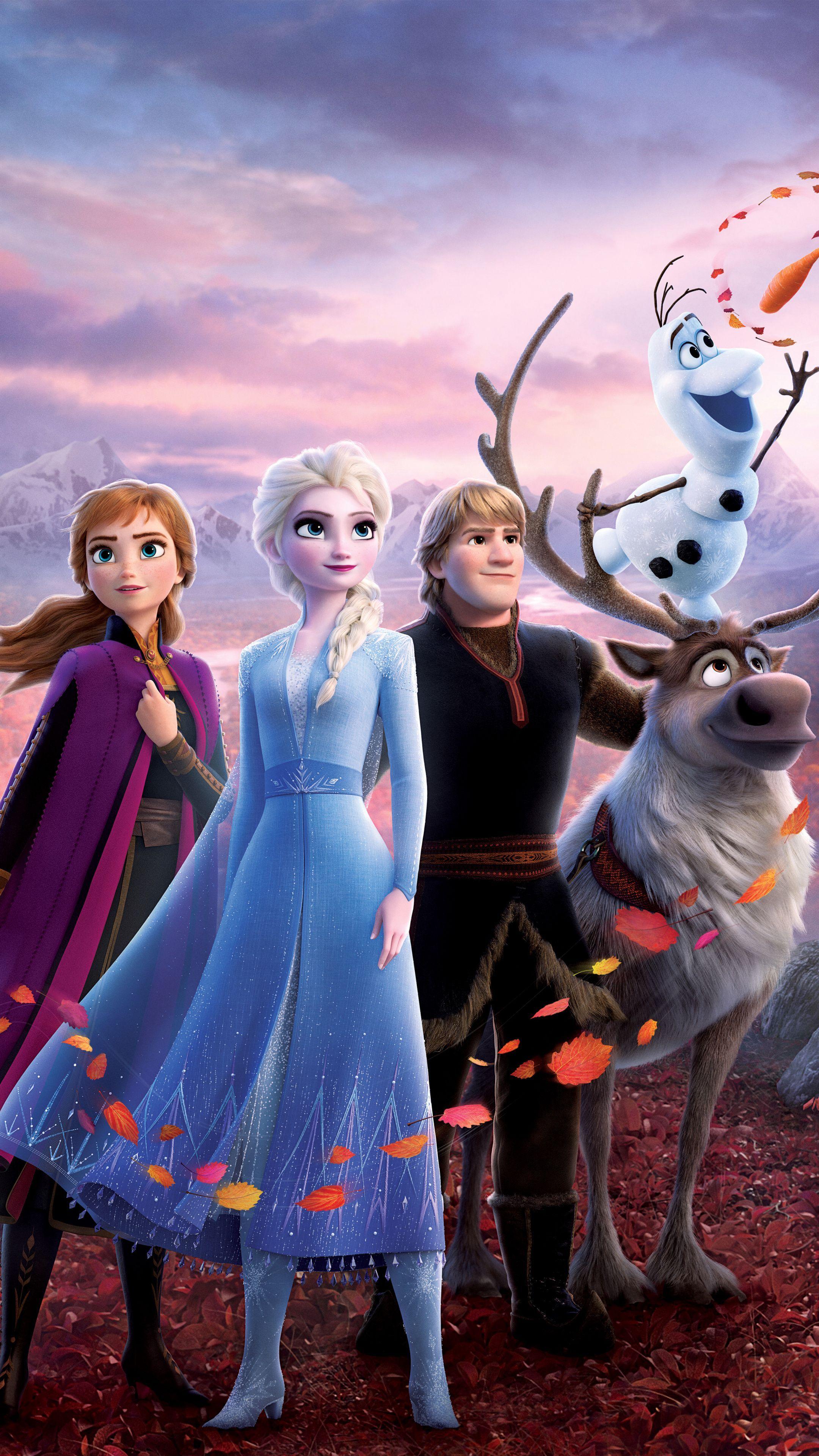 2160x3840 Movie, 2019 movie, Disney, Frozen 2 wallpaper