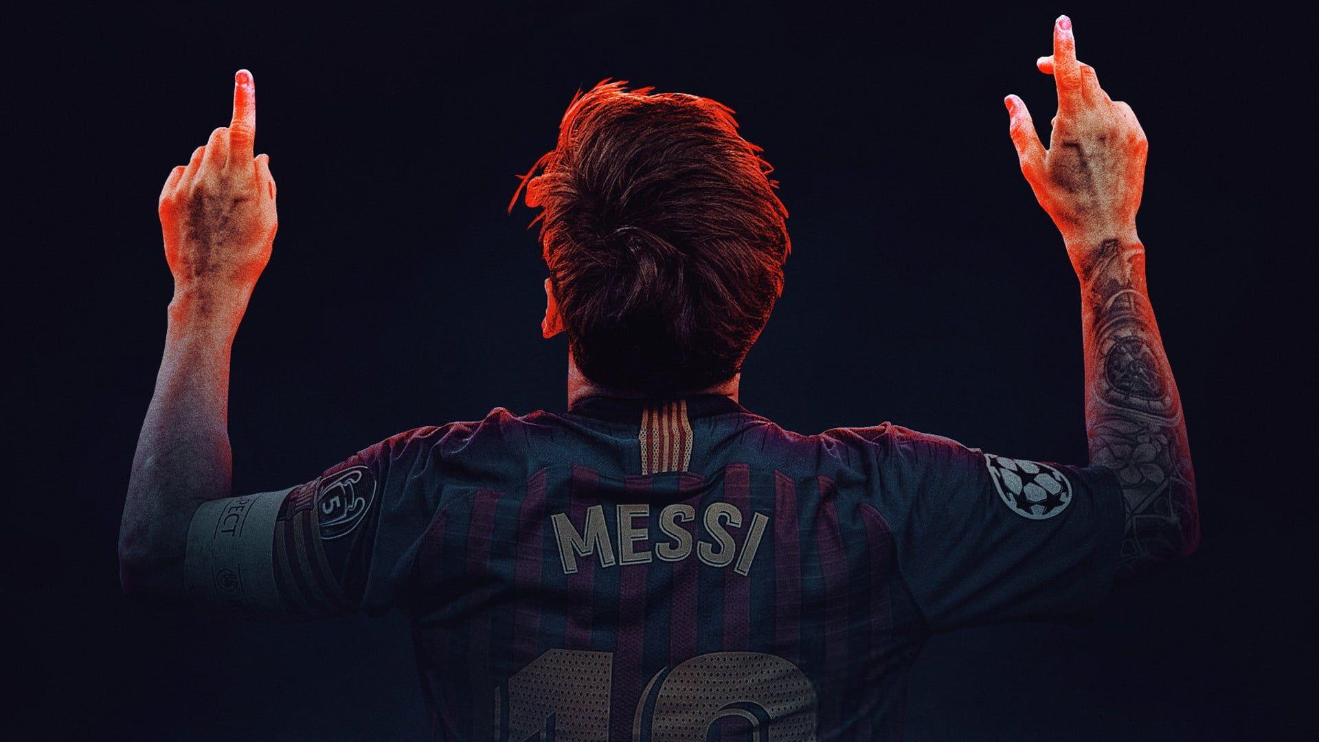 Lionel Messi Football Barcelona 1080p Wallpaper Hdwallpaper Desktop In 2020 Lionel Messi Messi Lionel Messi Wallpapers
