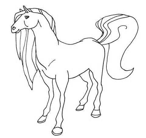 Free Printable Horseland Coloring Pages For Kids | Drawing Animals ...