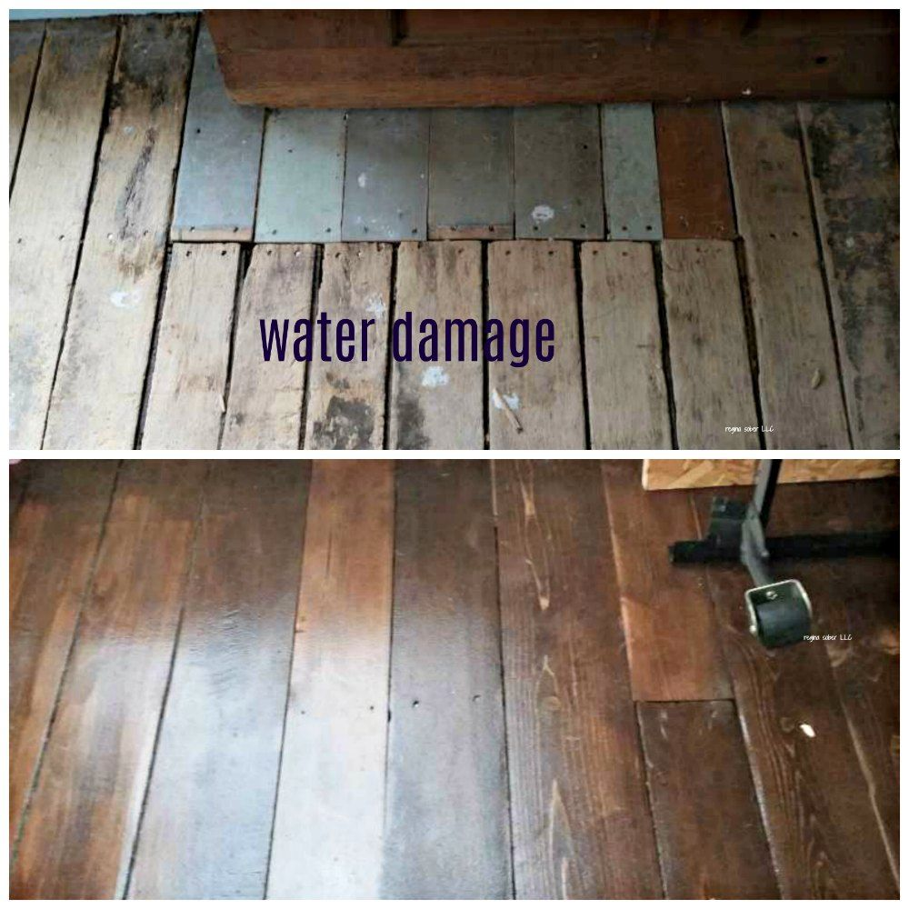 how to salvage and refinish old wood floors Old wood