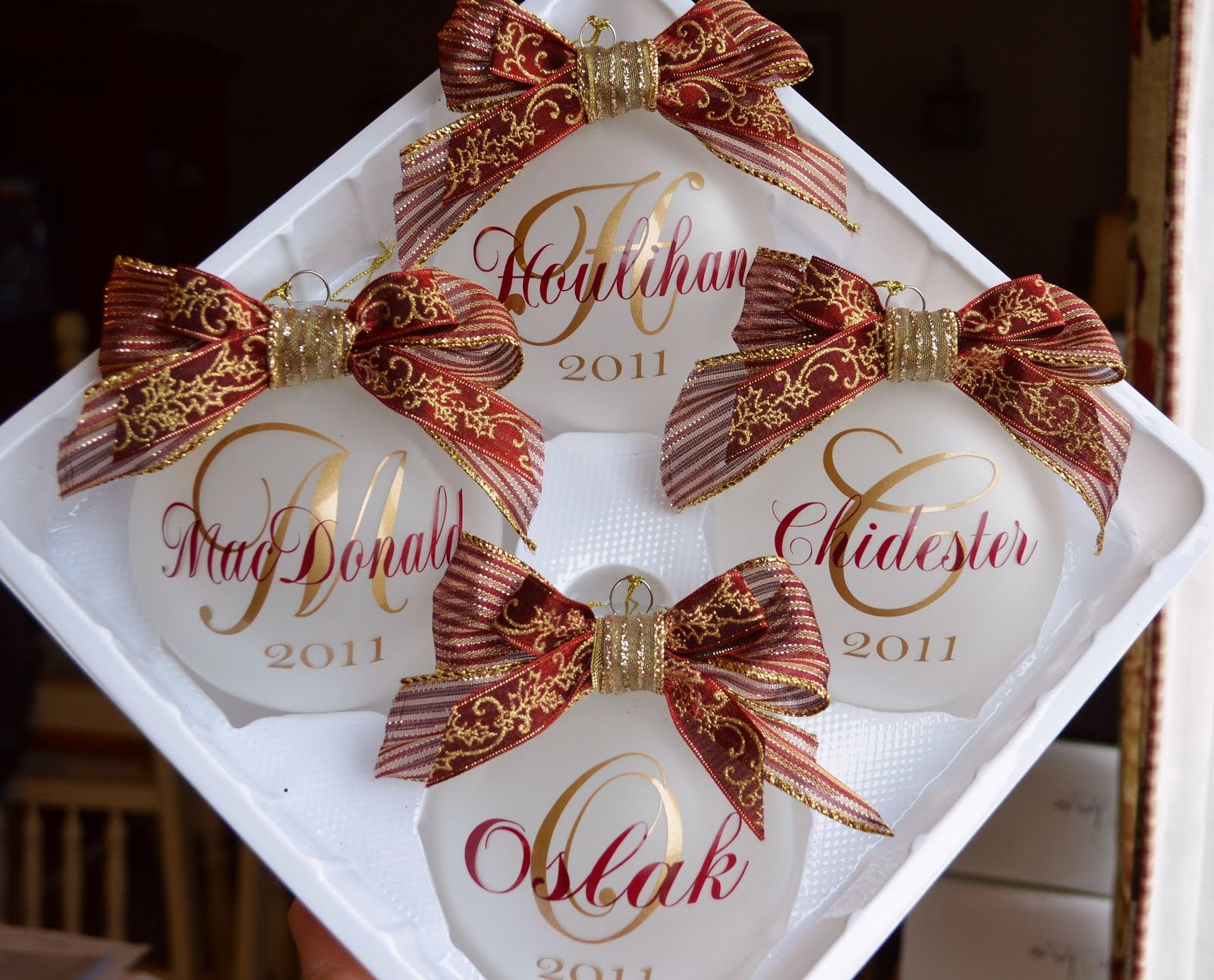Cher's Signs by Design Personalized Ornaments Christmas