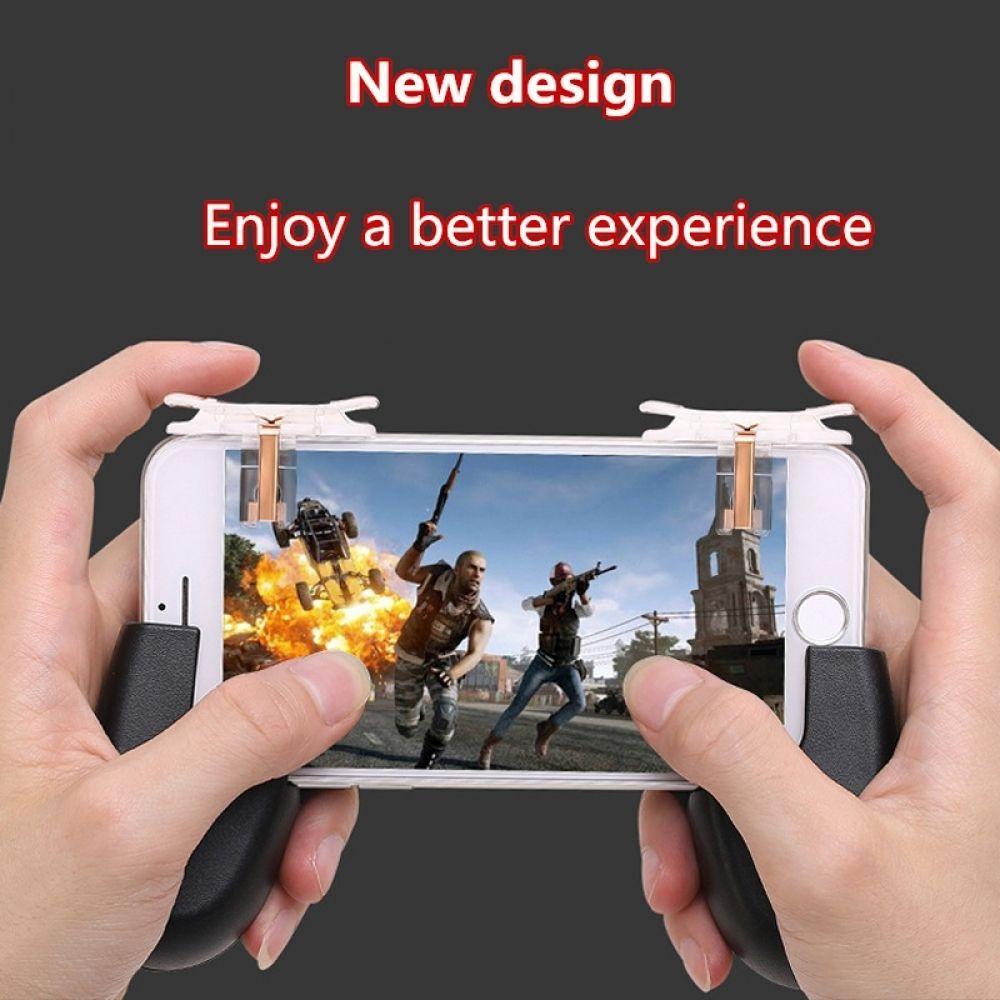 Phone Gamepad Trigger Fire Button Aim Key Smart phone
