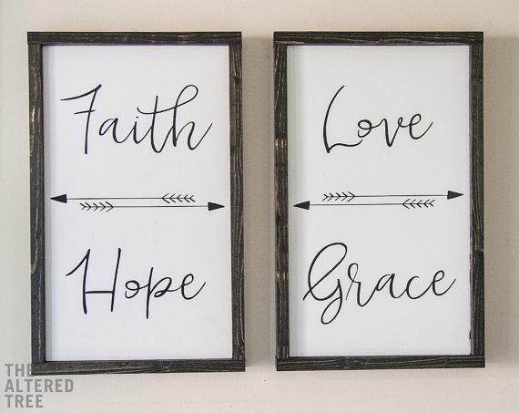 Faith Hope Love Grace