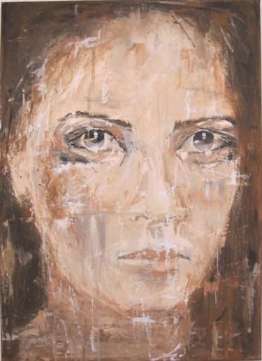 "Saatchi Art Artist jutta bressem; Painting, ""Portrait"" #art"