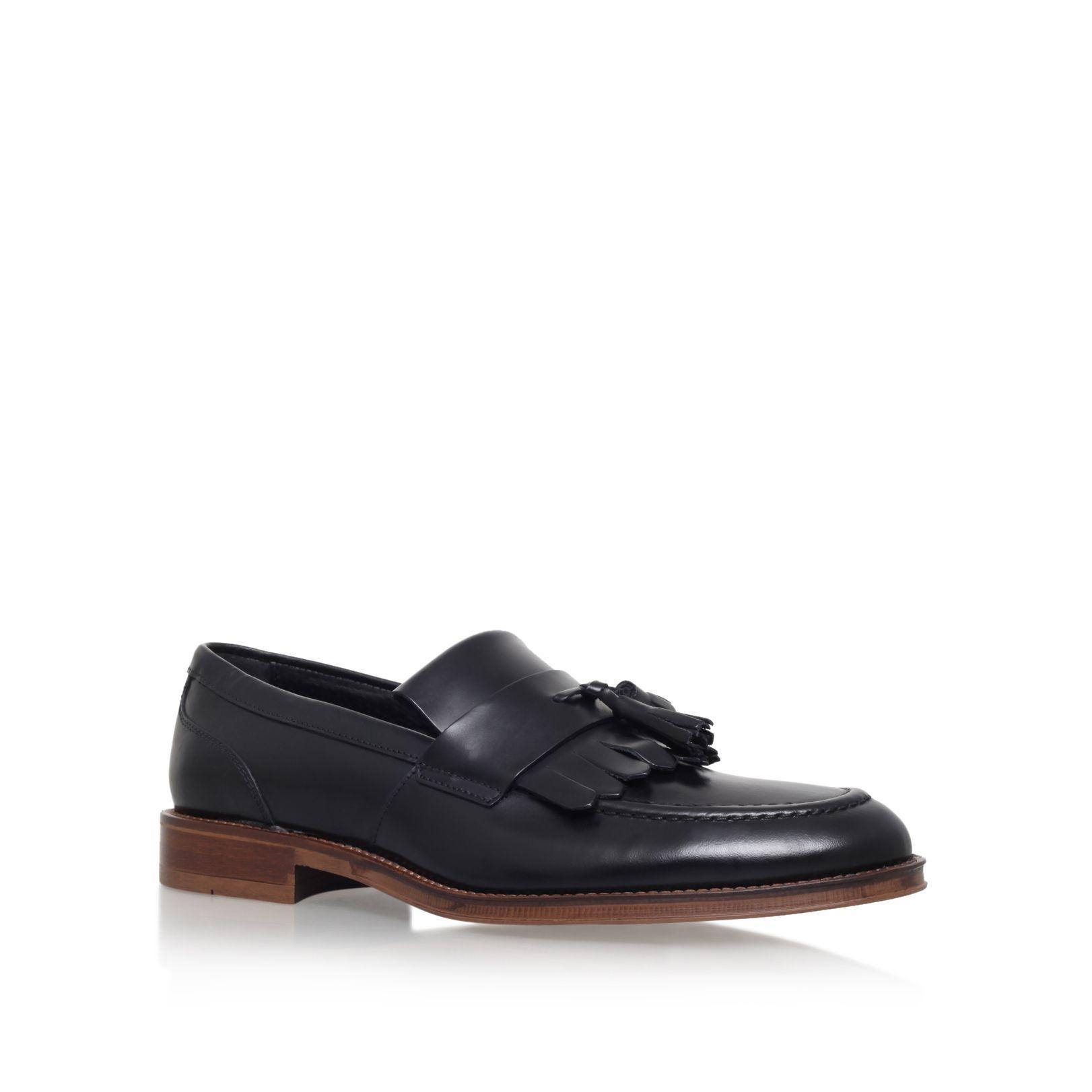 KG Maccio slip on tassel loafers, Black