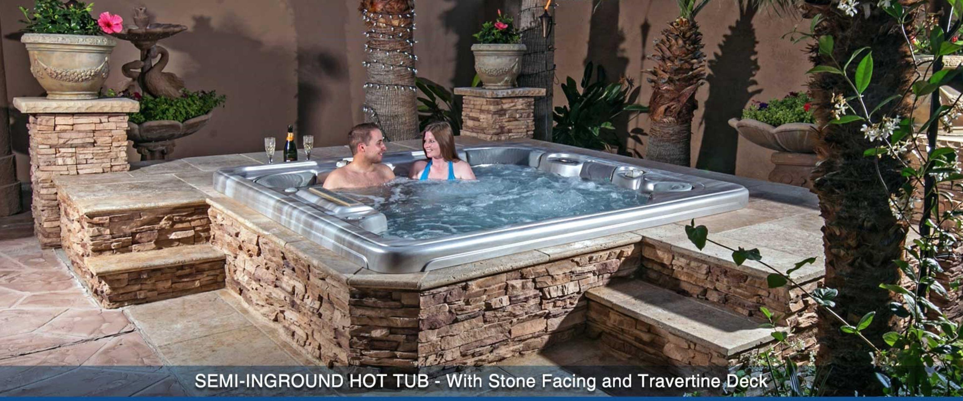 Semi Inground Hot Tubs 30 Minutes Huge Sale Visit Our Showroom