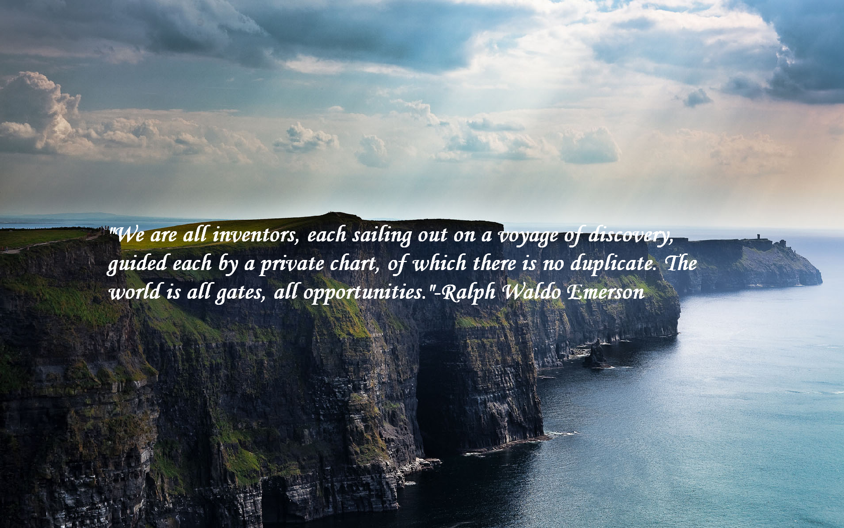 Ralph Waldo Emerson Landscape Quotes Wallpaper HD Wallpaper ...
