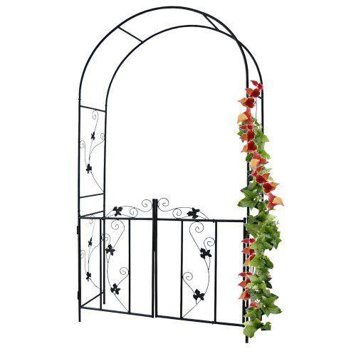 Arco giardino in ferro per rampicanti di Jago,   http://www.amazon.it/gp/product/B005LLQH4Q/ref=as_li_tf_tl?ie=UTF8&camp=3370&creative=23322&creativeASIN=B005LLQH4Q&linkCode=as2&tag=ilbelmanfoost-21