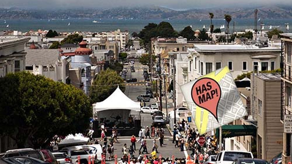 UPDATED Mapping 41 San Francisco Street Fairs