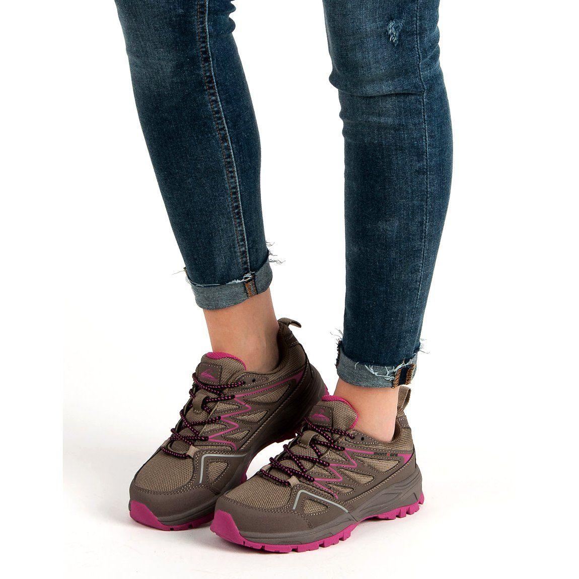 Damskie Buty Trekkingowe Brazowe Hiking Boots Shoes Boots