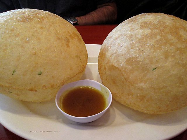 Scallion Bubble Pancake, Peter Chang's Restaurant Williamsburg