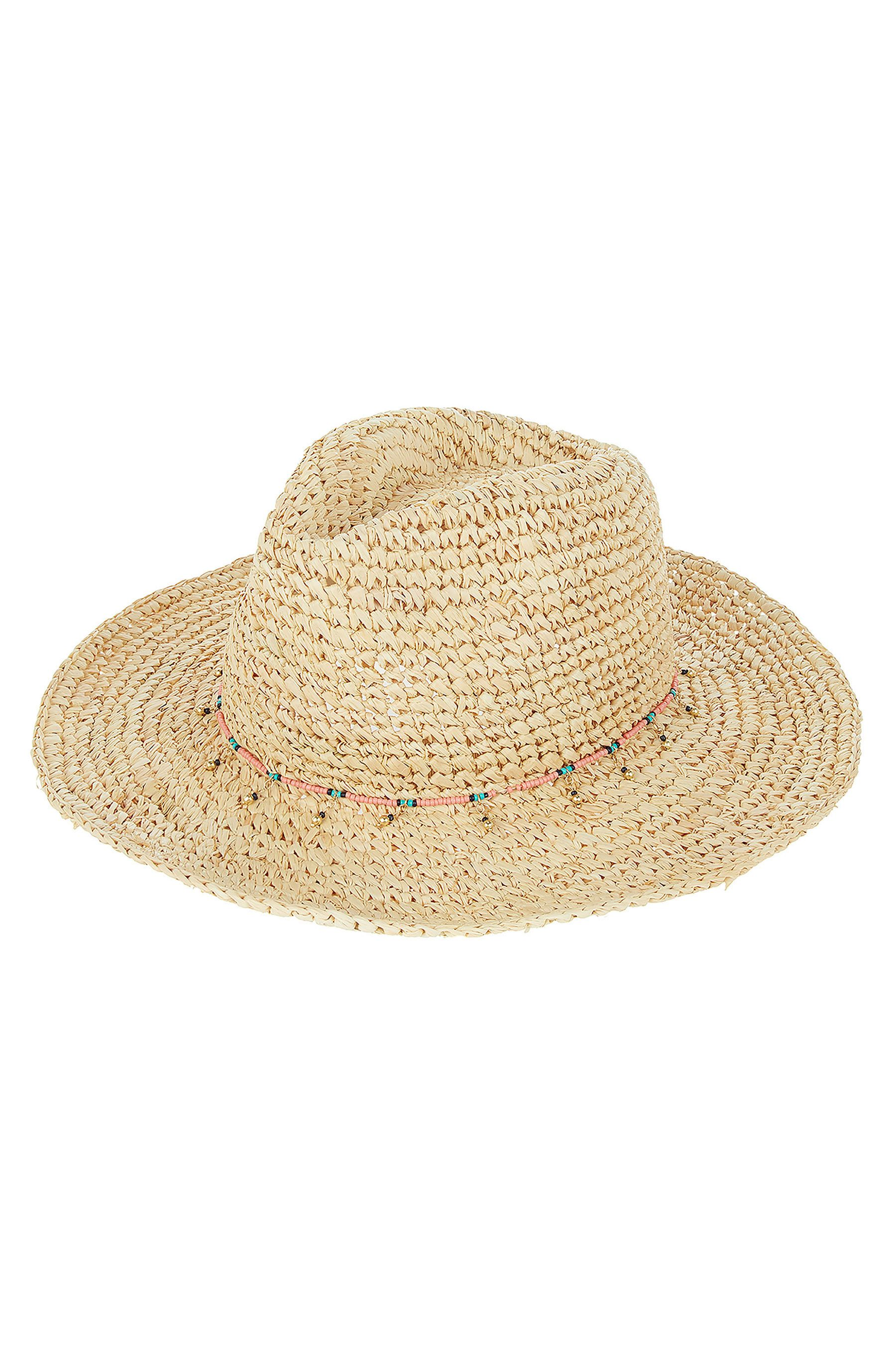 f3d7c977 Womens Accessorize Nude Charm Crochet Cowboy Hat - Cream | Products ...