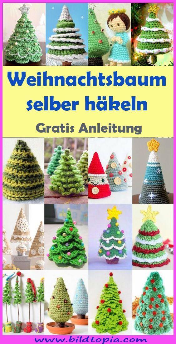 Tannenbaum häkeln – kostenlose & einfache Anleitung - Wellecraft