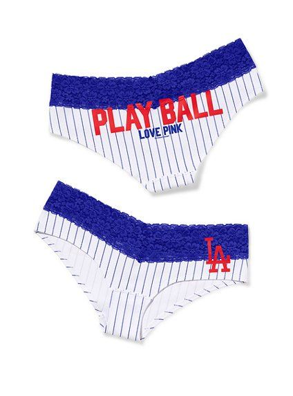 Los Angeles Dodgers Perfect Pink Hipster Panty Victoria S Secret Pink Victoria S Secret With Images Cubs Clothes Dodgers Girl Victoria Secret Pink