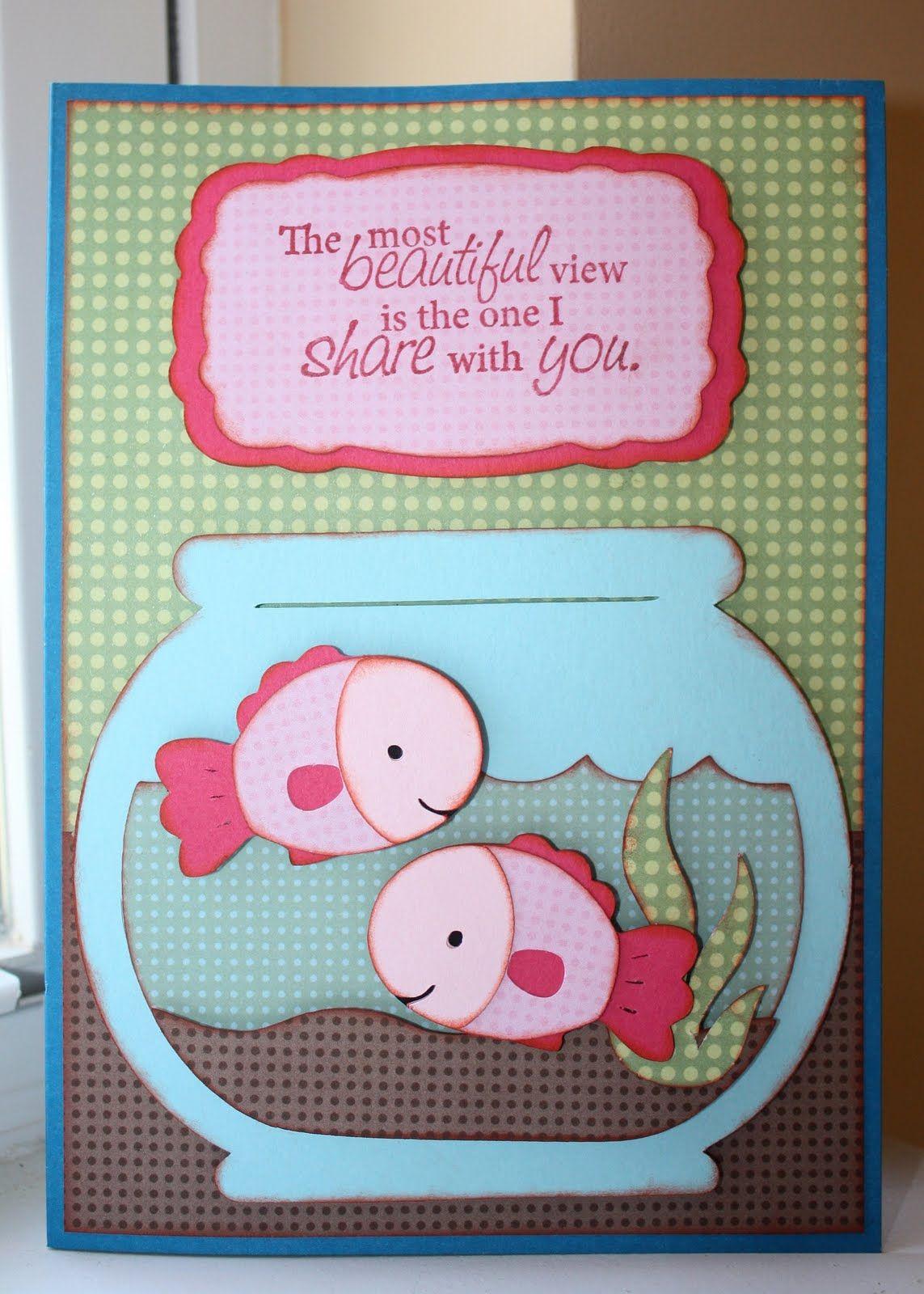 Scrapbook ideas anniversary -  The Most Beautiful View Anniversary Card Faith Abigail Designs