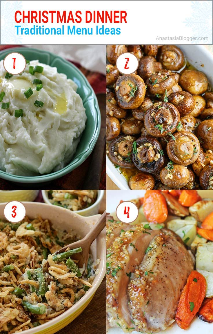 Best 25+ Christmas Dinner Ideas Traditional / Italian