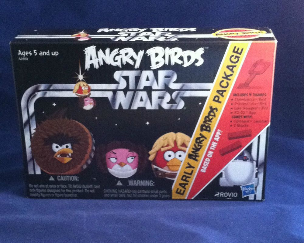 Angry Birds Star Wars Early Birds Package Brand New #Hasbro