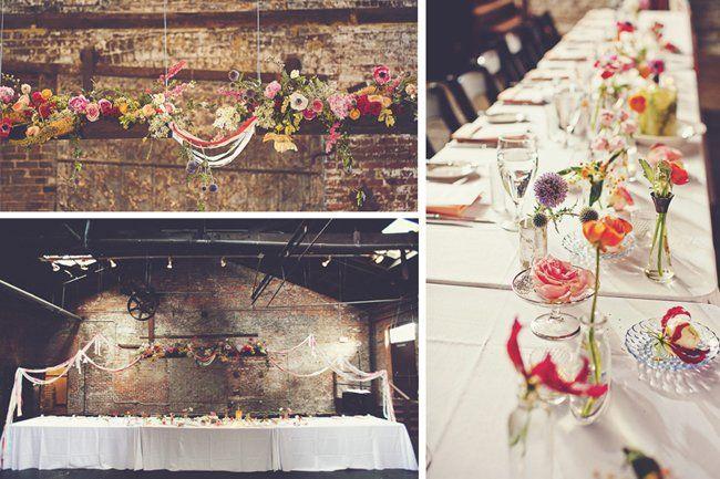 Wedding flower inspiration from Amy Osaba - Bright Whimsical Arrangements